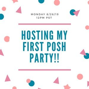 Other - OMG 😮I'm hosting my FIRST PARTY!!! 💜🎉